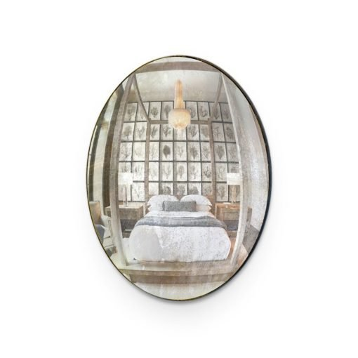 Convex-Glass-Silver-Bedroom